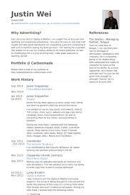 Junior Copywriter Resume samples