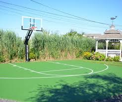custom outdoor basketball court clifton nj deshayes dream