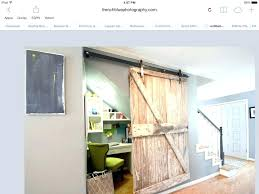office under stairs. Under Stairs Office Ergonomic Basement Barn Door Small Ideas .