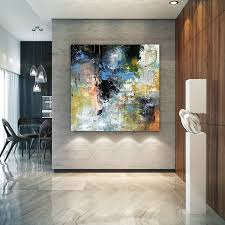 large modern wall art painting large