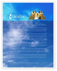 The stake letterhead is used for official stake correspondence, and so if you are a stake clerk and are just asking how to order more letterhead if you are trying to create templates to print, you can make the templates leave most church printers don't have a separate paper tray for letterhead. Church Letterhead Templates In Microsoft Word Adobe Illustrator And Other Formats Download Church Letterheads Design Now Poweredtemplate Com