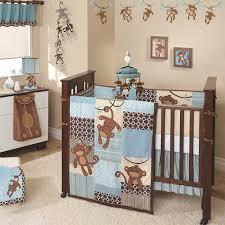 monkey baby boy nursery bedding