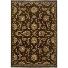 oriental weavers darcy 1330n brown green area rug