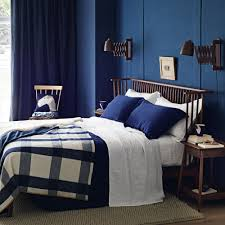 bedroom idea. Perfect Idea Cosybedroomideawithdeepbluepalleteand Intended Bedroom Idea