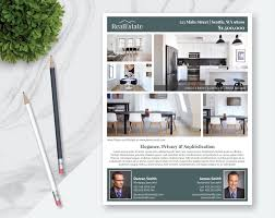 mortgage flyer template real estate flyer template 5 photos single sided pages