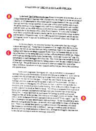 commentary essay examples extended essay extended essay example  work sample commentary analysis of the old man and the sea click to enlarge