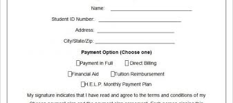 Payment Plan Template Payment Agreement Template Pdf And Sample Agreement Letter