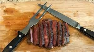 sous vide mock tender steak keto lunch