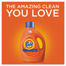 How Much He Detergent To Use Tide Original Scent He Turbo Clean Liquid Laundry Detergent 100