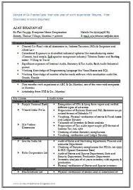 over  cv  amp  resume samples   free do   over  cv  amp  resume samples   free download  perfect resume for ca fresher