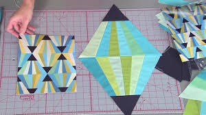 Magic Triangle block on Fresh Quilting - YouTube & Magic Triangle block on Fresh Quilting Adamdwight.com