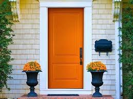 Orange front door Modern Vibrancy Collection For Orange Front Door Designs Entry Design Ideas Uk Doors Exterior The Home Faux Bevels Pair Entry Door Alamy Entryway With Wood Front Door Entry Designs Design Ideas Uk Idea