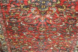 rug early 20th century hand loom wool rug central medallion on red ground