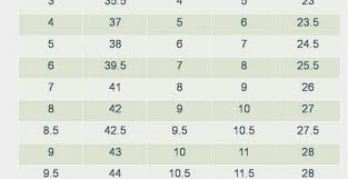 Old Navy Shoe Size Chart Www Bedowntowndaytona Com