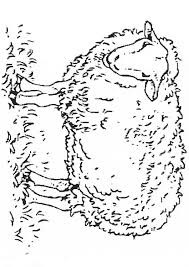 Small Picture Sheep coloring Free Animal coloring pages sheets Sheep