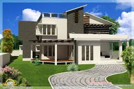 ... New Contemporary Mix Modern Home Designs Kerala Home Design And | Span New  Contemporary House ...