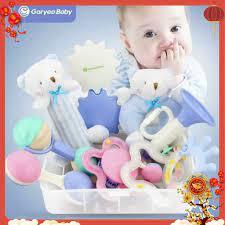 SET đồ chơi phát triển kỹ năng cơ bản cho bé dưới 1 tuổi Gorygeo Baby Hàn  Quốc