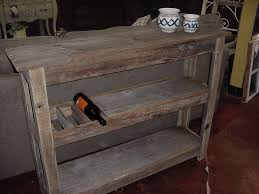 Barnwood Bar real barn wood wine bar buffet table just fine tables 3030 by guidejewelry.us
