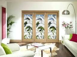 glass door designs for living room cmnk design