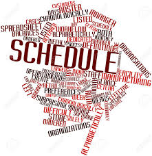 Schedule Word Schedule In Word Magdalene Project Org