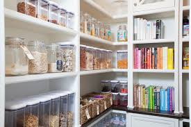 Gorgeous Walk In Pantry Shelving Creative Decoration Gray Design Ideas