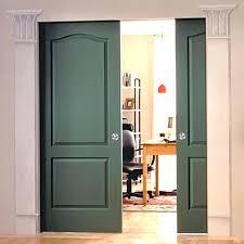 sliding closet door double pocket doors bottom guide installation c