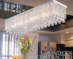 crystop clear k9 crystal chandelier dining room light fixtures polished chrome finish modern