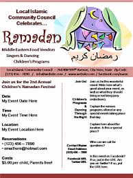 Ramadan Poster Flyer Event Design Slide Business Presentation Flyer