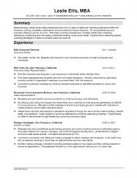 resume for insurance agent resume for insurance agent makemoney alex tk