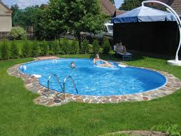 Backyard Swimming Pools with 4 Cool Ideas Home Design Layout Ideas