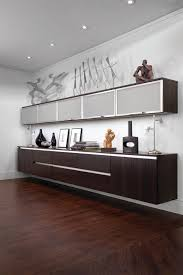 Wall cabinets for office Diy Glamorous Office Credenza In Home Office Modern With Lift Up Cabinet Doors Next To Wall Mounted Cabinet Alongside Floating Cabinets And Ikea Besta Pinterest Glamorous Office Credenza In Home Office Modern With Lift Up Cabinet