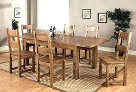 oak dining table set solid oak dining room table and chairs oak dinning table set oak