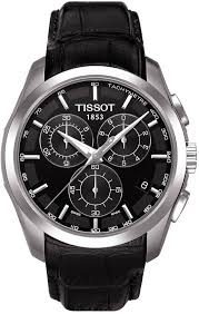 Tissot T-Trend Couturier Black Dial <b>Chronograph Mens Watch</b> #<b>men</b> ...