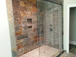 bathroom glass shower doors frameless door stall design idea beige wall paint color framed sliding enclosure