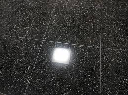 Black Terrazzo Floor Resurfacing Pinnacle Stone Care