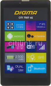 Купить <b>Планшет DIGMA CITI 7507</b> 4G, 2GB, 32GB, 4G черный в ...