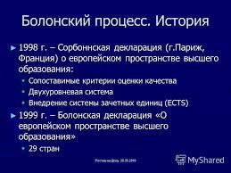 Болонская система образования в россии реферат причины и этапы  болонская система образования в россии реферат