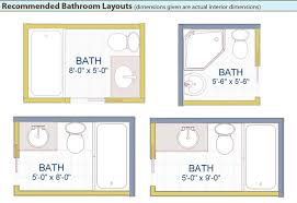 bathroom dimensions. great small bathroom design layouts best dimensions