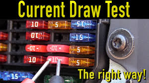 Parasitic Draw Chart The Best Way To Perform A Parasitic Draw Test Humble Mechanic