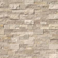 roman beige 6x24 split face ledger panels natural travertine wall tile
