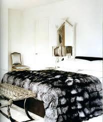 king size faux fur comforter dark brown