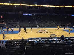 Chesapeake Energy Arena Section 116 Oklahoma City Thunder