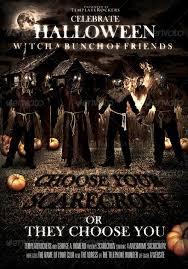 Halloween Dance Flyer Templates 15 More Horror Flyer Templates For Halloween Party