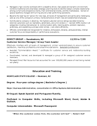 Customer Service Manager Skills Resume Meloyogawithjoco Interesting Resumes For Customer Service Managers