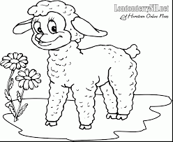 Small Picture the sheep with lamb coloring inkspired musings lambs both vintage