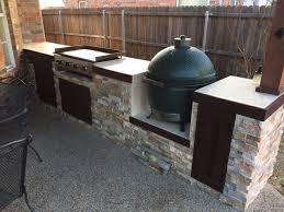 built in outdoor griddle designs