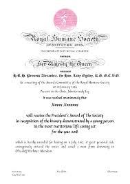 Awards Royal Humane Society