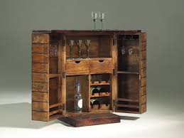 hidden bar furniture. rustic mini liquor cabinet ikea made of wood with swivel doors and hidden drawers for small bar furniture
