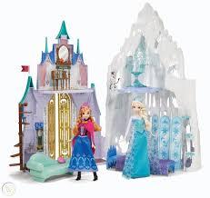 Disney Frozen 2 N 1 Elsa Anna Castle Ice Palace Playset Olaf ...