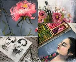 Les Femmes an online art course with artist Renee Mueller